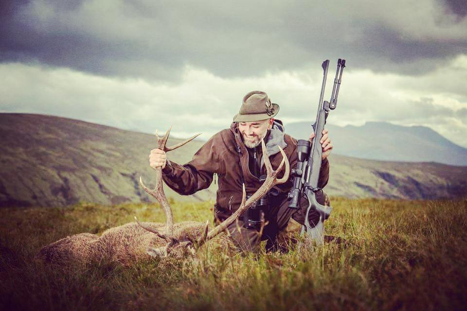 Red Stag hunt in Scotland