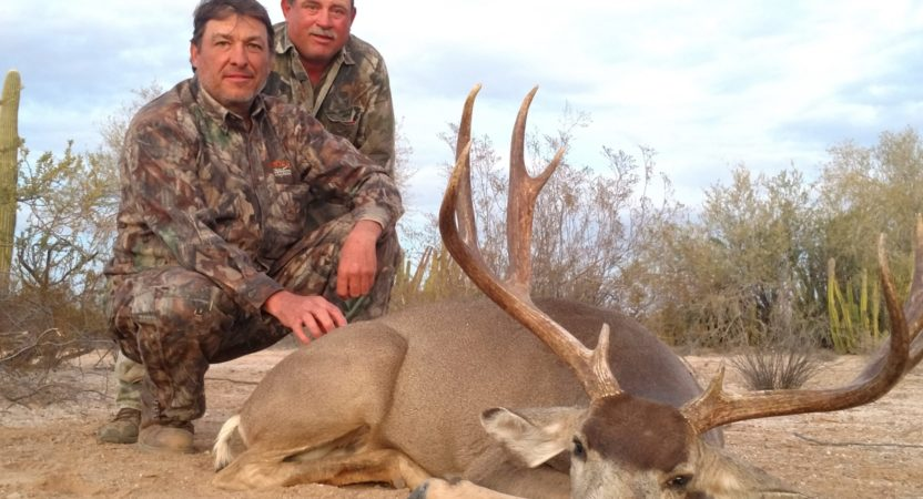 Charles House, Mexico Mule Deer Hunt Report