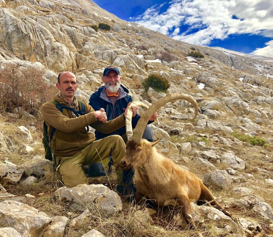 Jason Kinyon, Bezoar Ibex Hunt Report